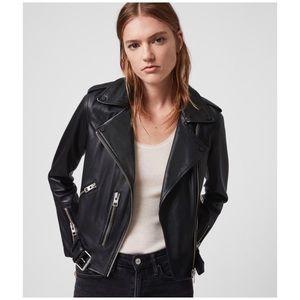 All Saints Balfern Leather Biker Jecket